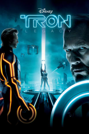 movie poster for Tron: Legacy