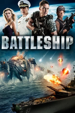 movie poster for Battleship