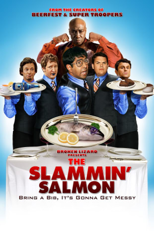 movie poster for The Slammin' Salmon