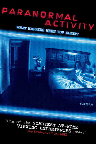 movie poster for Paranormal Activity