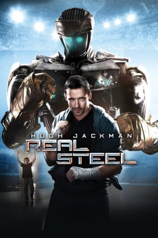 movie poster for Real Steel