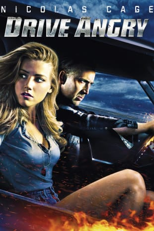 movie poster for Drive Angry