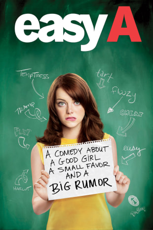 movie poster for Easy A