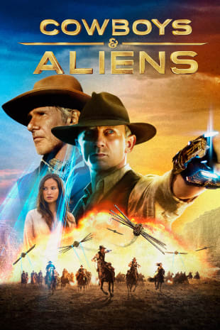 movie poster for Cowboys & Aliens