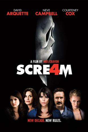 movie poster for Scream 4