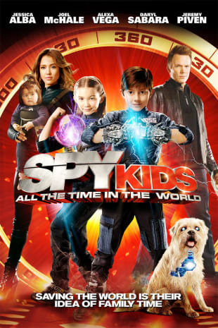 movie poster for Spy Kids: All The Time In The World