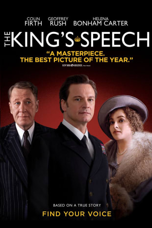 movie poster for The King's Speech