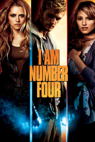 movie poster for I Am Number Four