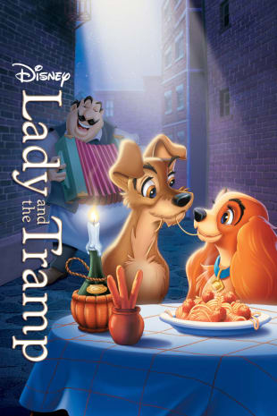 movie poster for Lady and the Tramp
