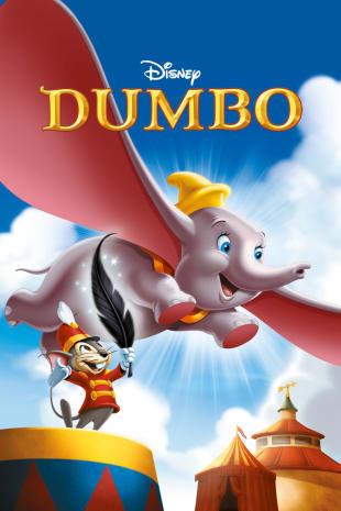 movie poster for Dumbo