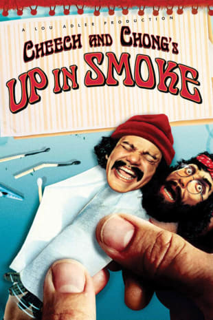 movie poster for Cheech & Chong's Up In Smoke