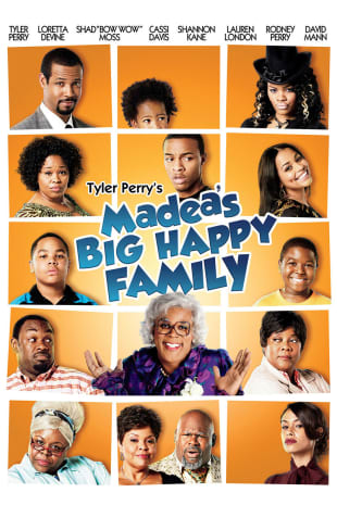 movie poster for Tyler Perrys Madeas Big Happy Family