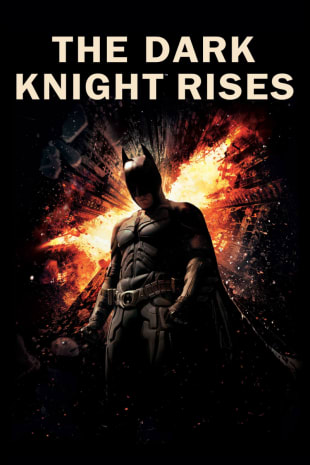 movie poster for The Dark Knight Rises