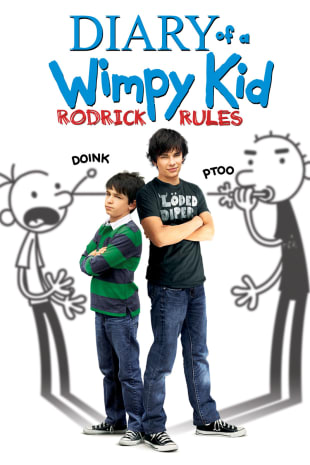 movie poster for Diary Of A Wimpy Kid: Rodrick Rules