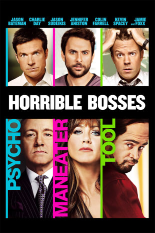 movie poster for Horrible Bosses