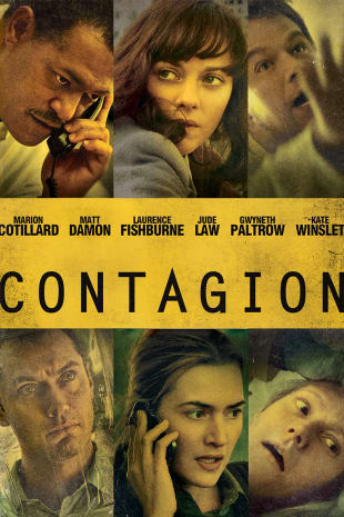 movie poster for Contagion