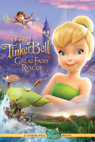 movie poster for Tinkerbell and the Great Fairy Rescue