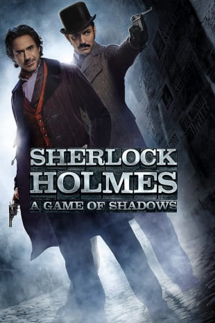 movie poster for Sherlock Holmes: A Game Of Shadows