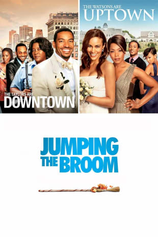 movie poster for Jumping The Broom