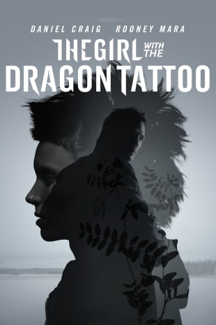 movie poster for The Girl With The Dragon Tattoo
