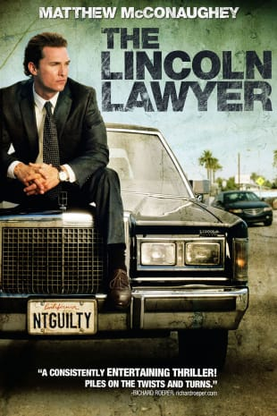 movie poster for The Lincoln Lawyer