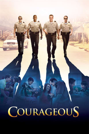 movie poster for Courageous