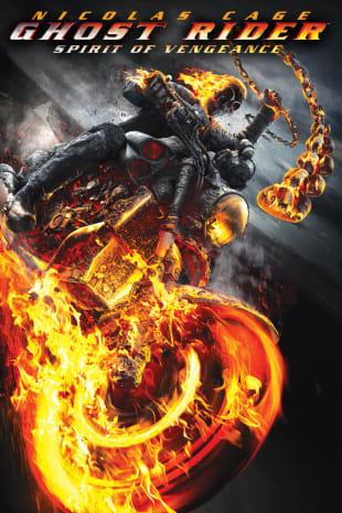 movie poster for Ghost Rider: Spirit Of Vengeance