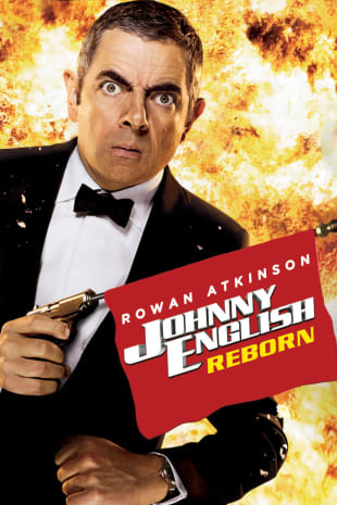 movie poster for Johnny English Reborn