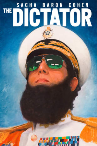 movie poster for The Dictator