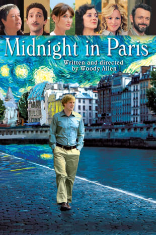 movie poster for Midnight in Paris