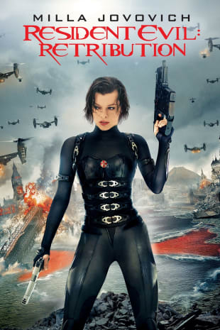 movie poster for Resident Evil: Retribution