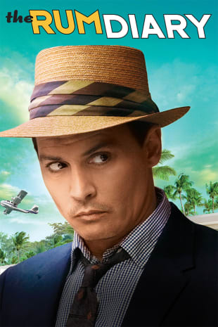movie poster for The Rum Diary
