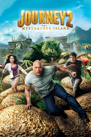 movie poster for Journey 2: The Mysterious Island