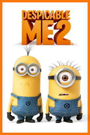 movie poster for Despicable Me 2