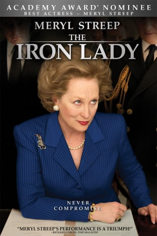 movie poster for The Iron Lady