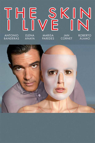 movie poster for The Skin I Live In