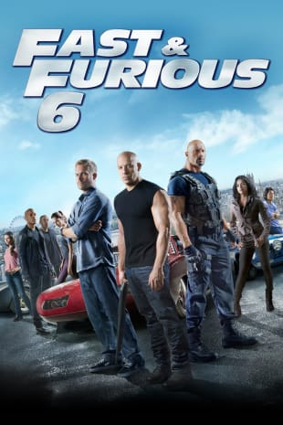 movie poster for Fast & Furious 6