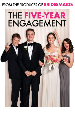 movie poster for The Five-Year Engagement