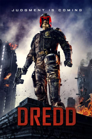 movie poster for Dredd