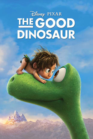 movie poster for The Good Dinosaur