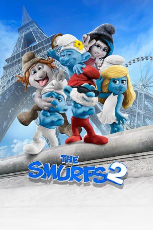 movie poster for Smurfs 2