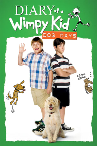 movie poster for Diary of a Wimpy Kid: Dog Days