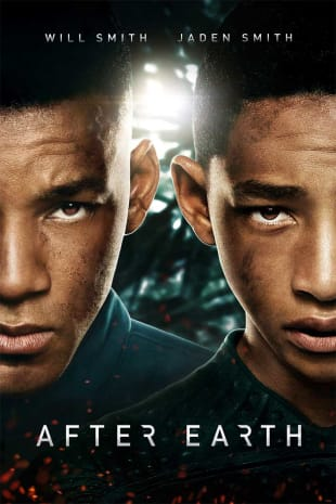 movie poster for After Earth