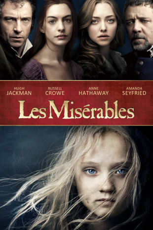 movie poster for Les Miserables (2012)