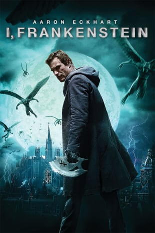 movie poster for I, Frankenstein