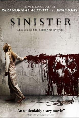 movie poster for Sinister