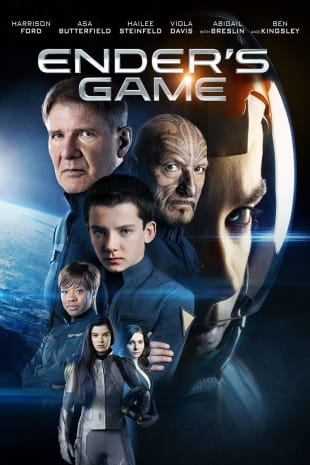 movie poster for Ender's Game