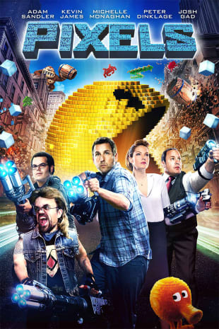 movie poster for Pixels