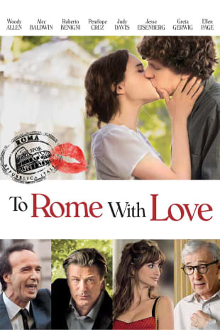 movie poster for To Rome With Love