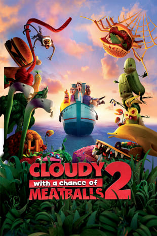 movie poster for Cloudy With A Chance Of Meatballs 2